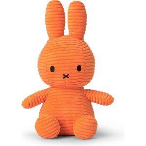 nijntje Corduroy knuffel oranje - 8719066007565